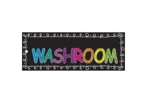 ASHLEY PRODUCTIONS Chalk Washroom Laminated Pass