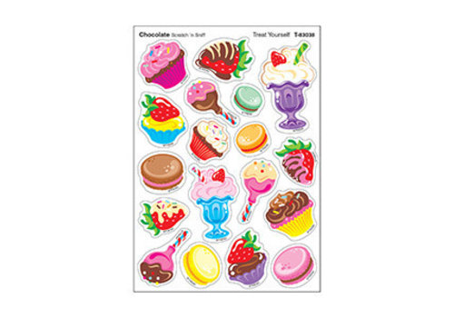 Trend Enterprises Treat Yourself/Chocolate Stinky Stickers