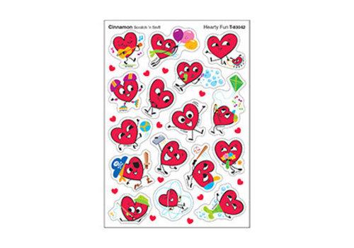 Trend Enterprises Hearty Fun / Cinnamon  Stinky Stickers