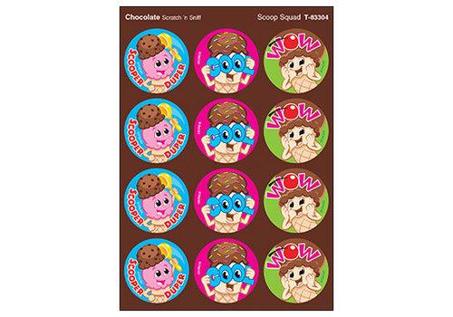 Trend Enterprises Scoop Squad / Chocolate Stinky Stickers