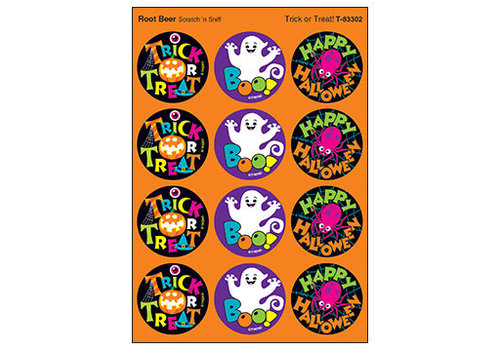 Trend Enterprises Trick or Treat / Root Beer Stinky Stickers