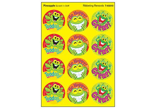 Trend Enterprises Ribbeting Rewards / Pineapple Stinky Stickers *