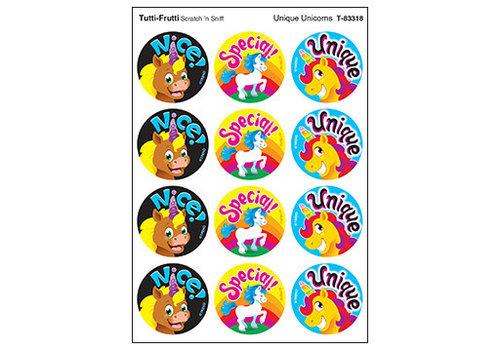 Trend Enterprises Unique Unicorns / Tutti-Frutti  Stinky Stickers