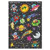 Trend Enterprises Sparkly Space Stuff  - Sparkle Stickers *