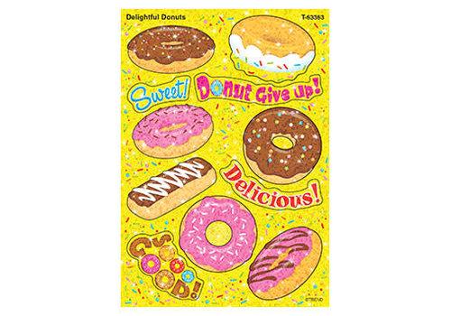 Trend Enterprises Delightful Donuts Sparkle Sticker *