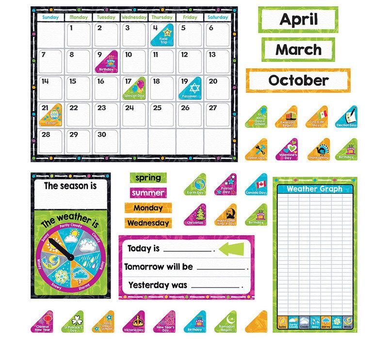 Color Harmony Calendar Set