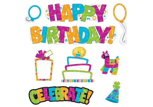 Trend Enterprises Color Harmony Wipe-Off Birthday Mini BBS *