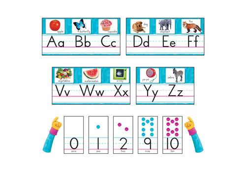 Trend Enterprises Color Harmony Photo Alphabet Line