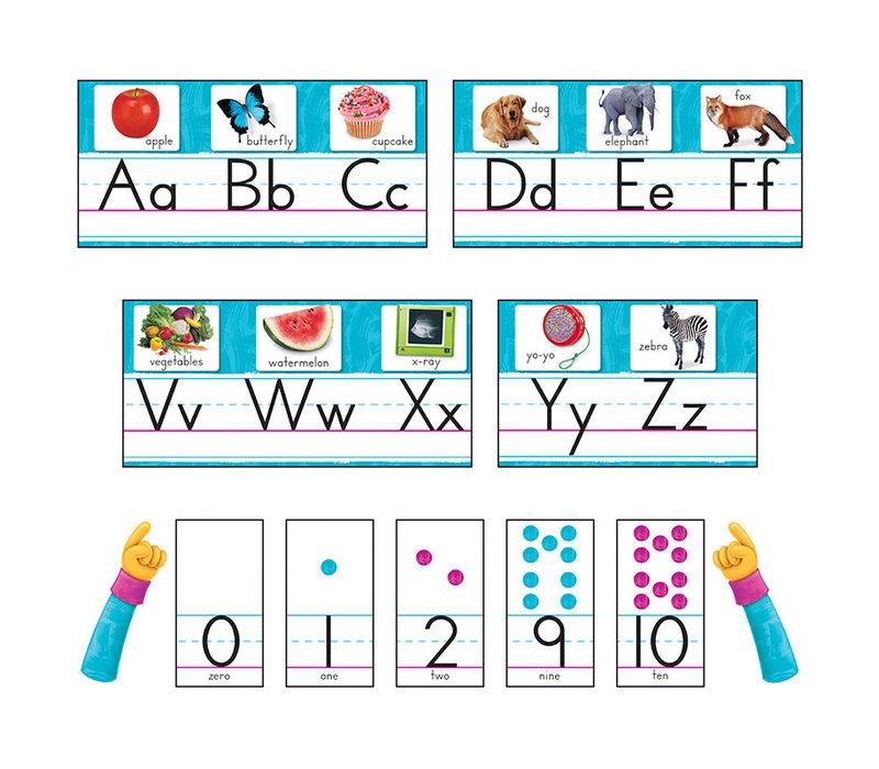 Color Harmony Photo Alphabet Line