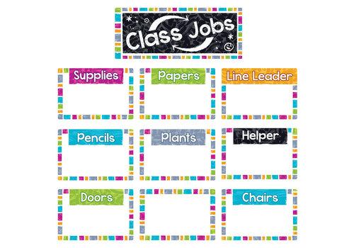 Trend Enterprises Color Harmony Class Jobs Wipe-Off BBS *