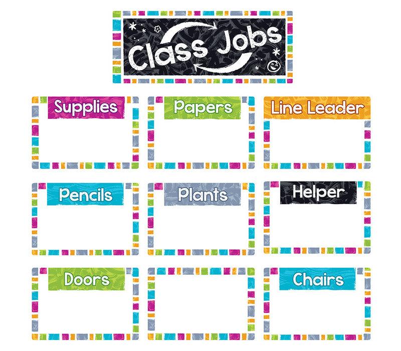 Color Harmony Class Jobs Wipe-Off BBS *