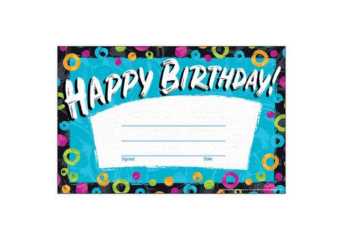 Trend Enterprises Color Harmony Happy Birthday Award