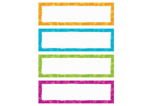 Trend Enterprises Color Harmony Name Plates Variety Pack*