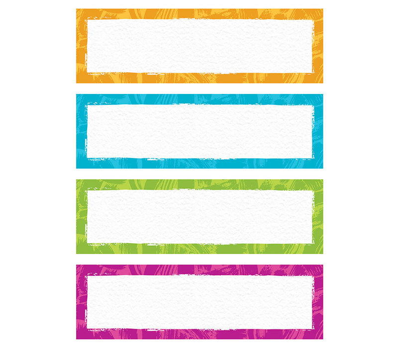 Color Harmony Name Plates Variety Pack