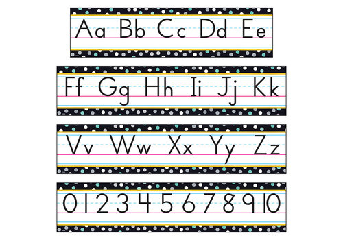 Trend Enterprises I ♥ Metal Alphabet Line BBS