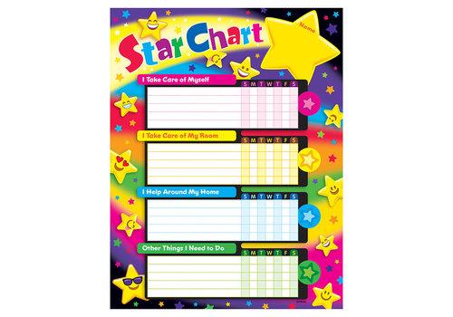Trend Enterprises Success Charts - Star Chart *