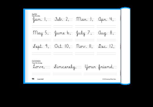 Handwriting Without Tears Handwriting Without Tears -  Cursive Kick Off