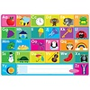 ASHLEY PRODUCTIONS Learning Mat ABC's & Numbers 1-20 *