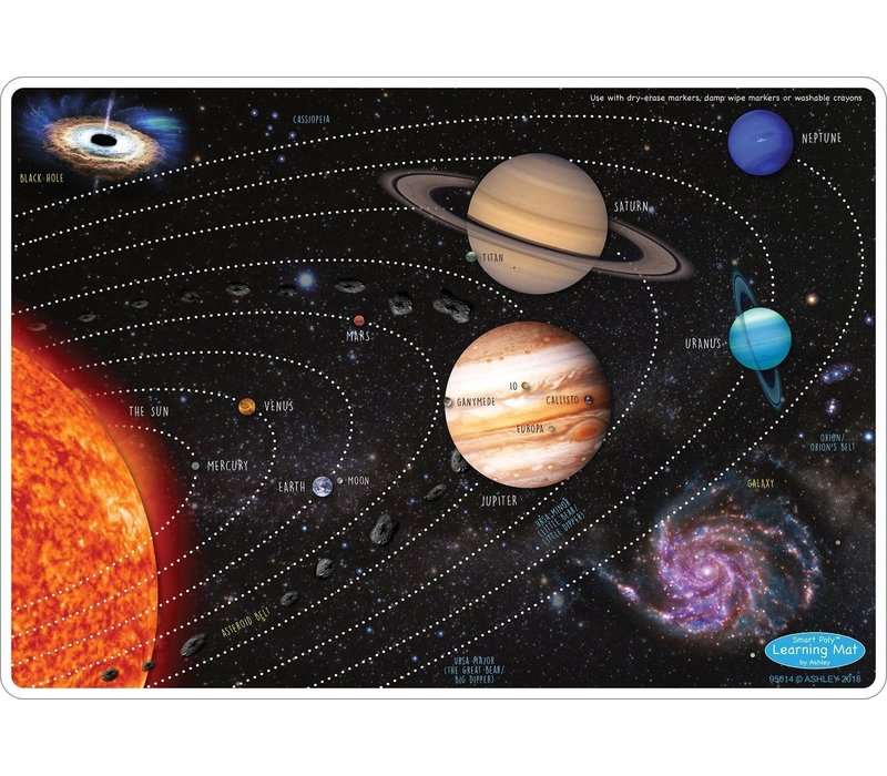 Learning Mat Solar System *