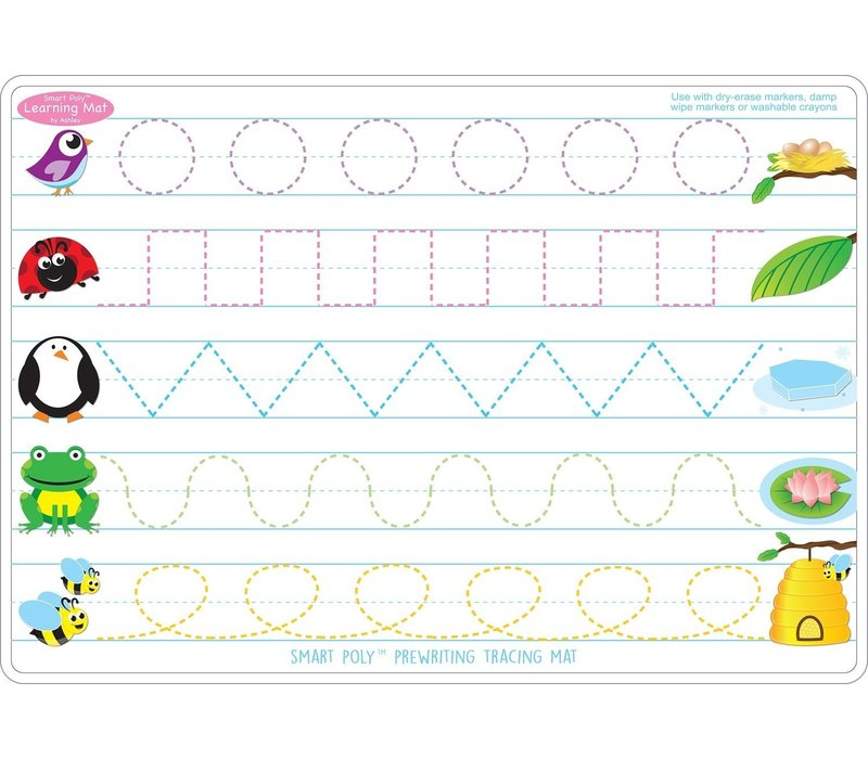 Learning Mat Prewriting/Shapes *