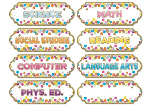 ASHLEY PRODUCTIONS Magnetic Confetti Subjects *