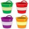 Carson Dellosa Buckets Cut-Outs *  (D)