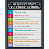 Carson Dellosa 10 Great Ways to Treat Others Chart*