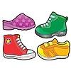 Carson Dellosa Shoes Cut-Outs