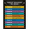 Carson Dellosa Great Reasons to Read Chart