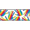 Carson Dellosa Rainbow Handprints Border *(D)