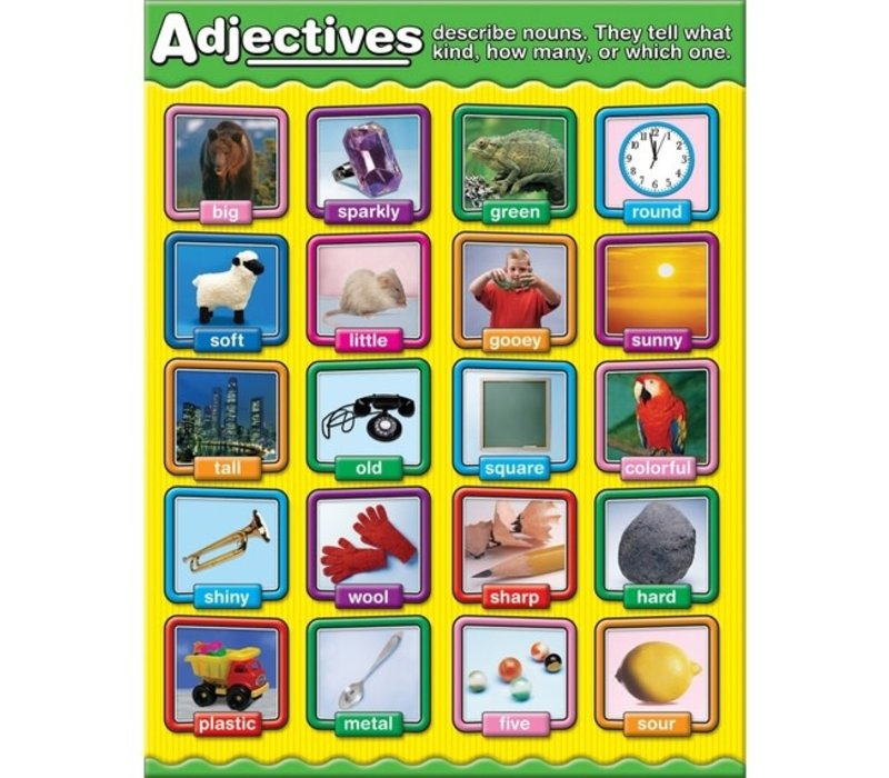 Adjectives Chart