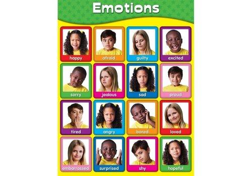 Carson Dellosa Emotions Chart