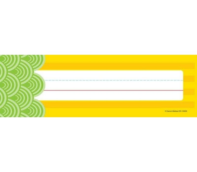 Lemon Lime Nameplates