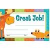 Carson Dellosa Moose & Friends Great Job Award (D) *