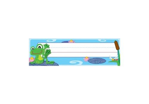 Carson Dellosa FUNky Frogs Nameplates