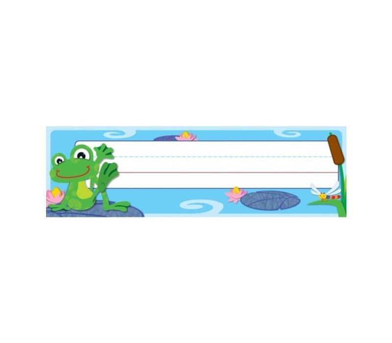 FUNky Frogs Nameplates