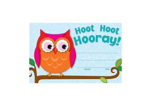 Carson Dellosa Hoot Hoot Hooray! Recognition Awards (D) *