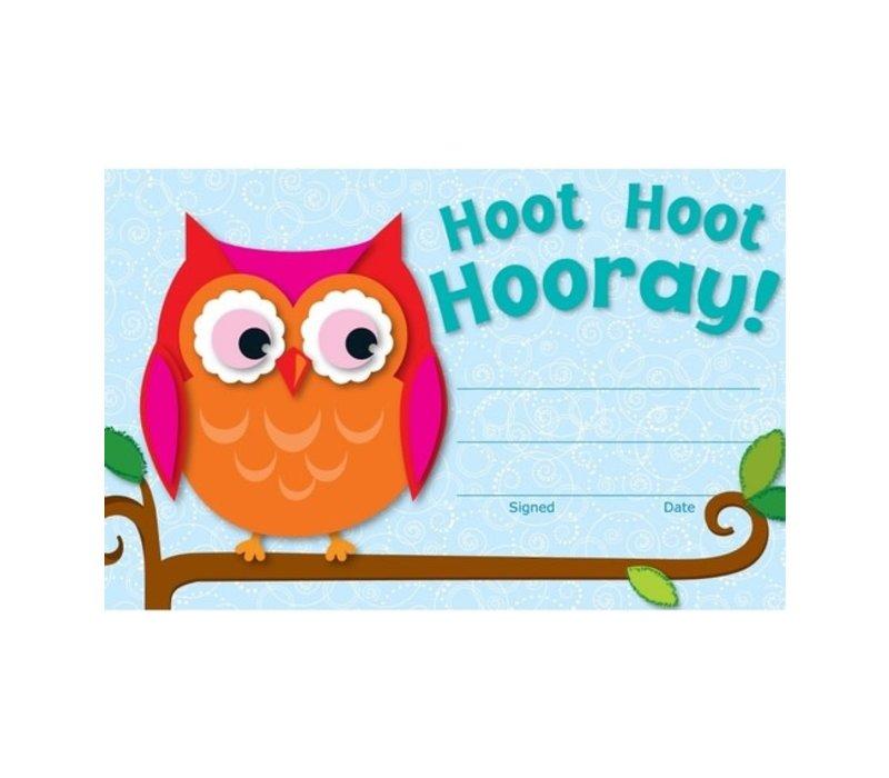 Hoot Hoot Hooray! Recognition Awards (D) *