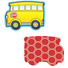 Carson Dellosa School Buses Mini Cut-Outs
