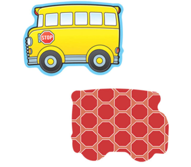 School Buses Mini Cut-Outs