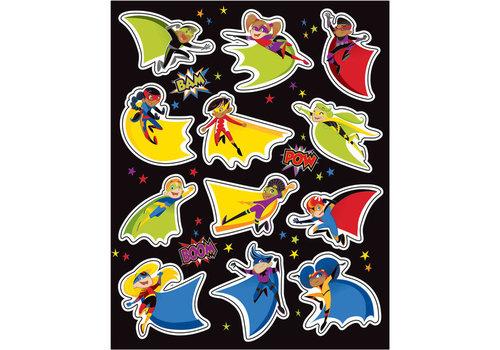Carson Dellosa Super Power Shape Stickers