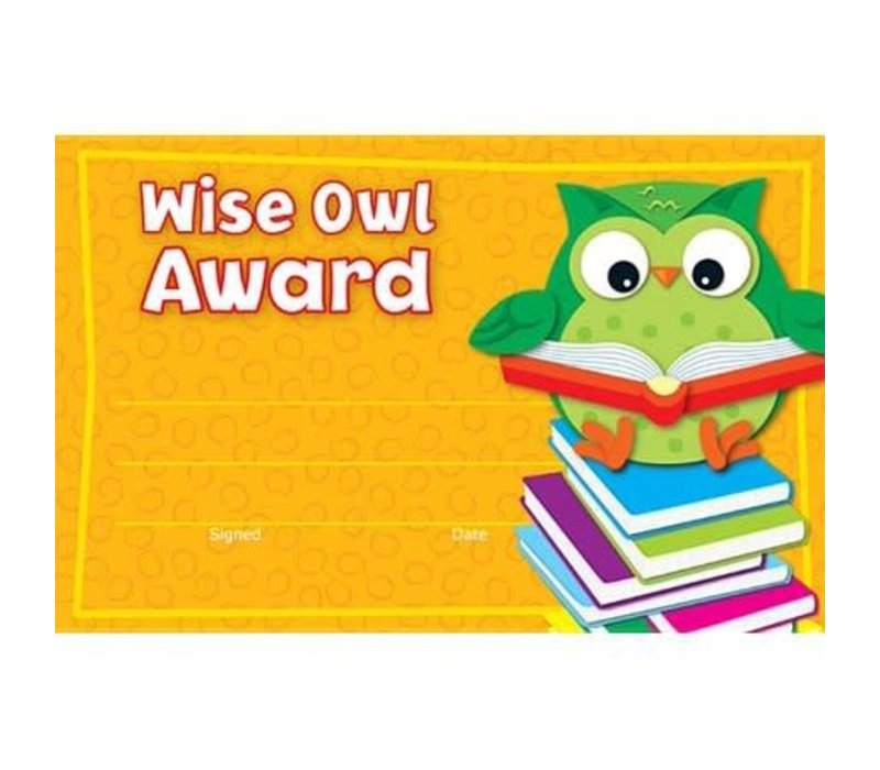 Wise Owl Recognition Awards (D) *