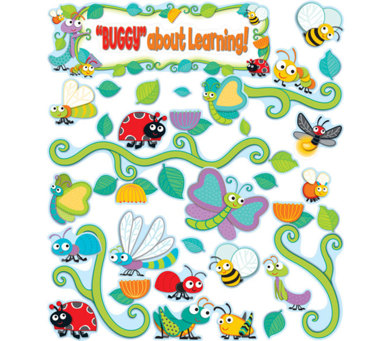 Buggy for Bugs Behavior Bulletin Board Set