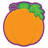 Carson Dellosa Pumpkin Notepad