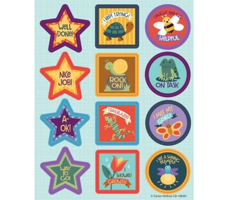 Nature Explorers Motivators Shape Stickers *