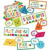 Carson Dellosa School Pop Shapes and Solids Bulletin Board Set