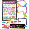 Carson Dellosa Clip Chart Classroom Management Bulletin Board Set
