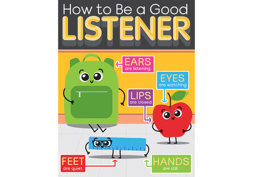 Carson Dellosa How to Be a Good Listener Chart*