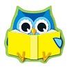 Carson Dellosa Reading Owl Mini Cut-Outs