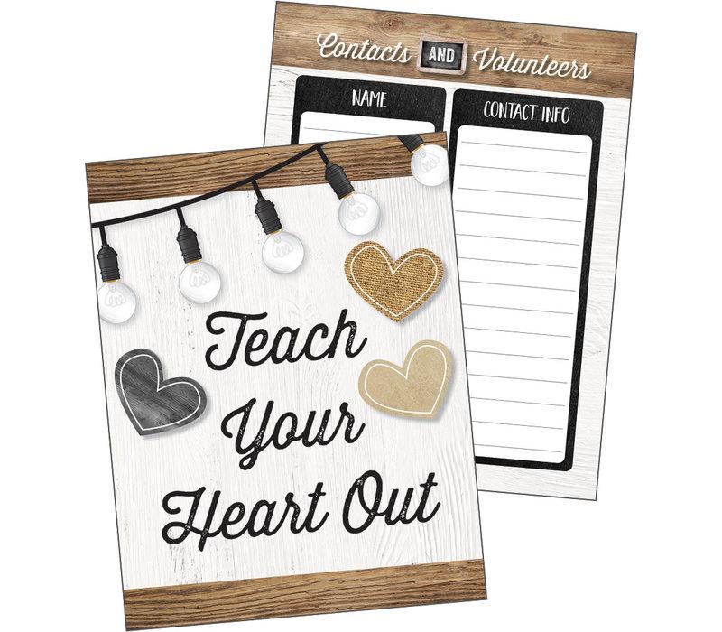 Industrial Chic -Teacher Planner